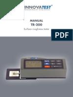 Manual TR 200