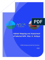 Habitat Mapping and Assessment of Selected MPA Sites in Antique