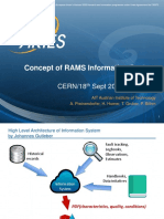 Concept of RAMS Information System, by ARIES