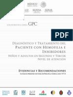 Hemofilia e inhibidores. Niños y adultos.pdf