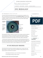 Eye Iridology - Surprising Findings - Iris the Picture of Health