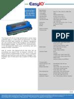 Datasheet Easyio Fs 32
