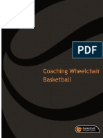 coaching wheel chair basketball