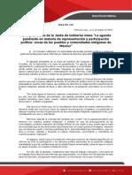 Boletin 129 Agenda Indigena 11.03.19