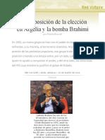 La posposición de la elección en Argelia y la bomba Brahimi, por Khalida Bouredji