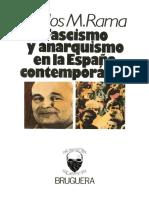 Carlos M Rama, Fascismo y Anarquismo