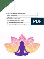 Yoga Nutritție