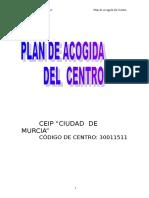 Plan de Acogida Del Centro