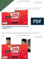 Jokowi_ Rommy Kawan, Tapi Kita Tetap Hormati Keputusan KPK