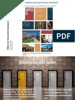 Presentación Constructos para el análisis de manuales. Campus Sur