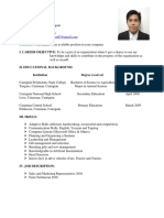Application and Resume Efraim