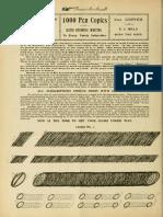 1000 Pen Copies-Mills's Part