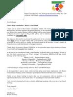 Future Shape Letter and Questionnaire