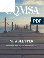 UQMSA Newsletter 2017