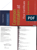 Common mistakes at First Certificate_Cambridge Books.pdf
