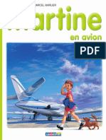 15 Martine en avion
