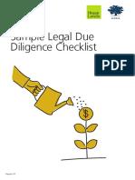 Legal Due Diligence Checklist