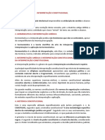 5 - INTERPRETAÇÃO CONSTITUCIONAL