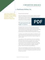 Spirit Airlines v Northwest Airlines