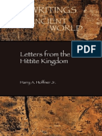 Letters from the Hittite Kingdom Writings from the Ancient World Society of Biblical Literature H A Hoffner.pdf