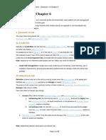 Ch6-Risk Mgt Summary