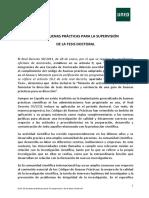 Guía de Buenas Prácticas Para La Supervisión de La Tesis Doctoral