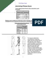 USAF Fitness Charts
