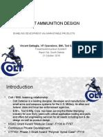 Lightweight Ammunition Design - Firearms Summit-sd 2010