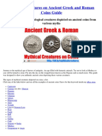 Mythological Ancient Greek Roman Coins
