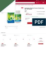 Suplementos Vitamínico Paversul Chlorella Green Gem - 360 Tabletes