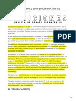 De La Maza, Gonzalo-Sociedad Civil y Democracia en Chile