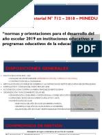 NT N°712 - 2019