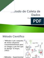 2 Metodos de Coletas de Dados