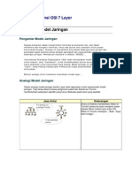 Model Referensi OSI 7 Layer