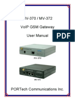 MV-370 User Manual