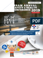 Brochure Safety Health Conference 2019