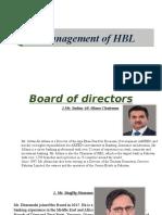 Management of Hbl