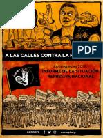 Antirrepresivo - Informe de La Situación Represiva Nacional 2018
