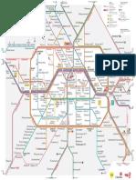 Mapa BVG