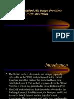 Bs Mix Design Doe Method