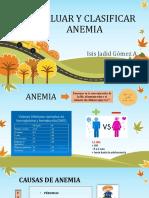 Evaluar y Clasificar Anemia