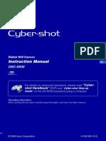 Sony Dsc s930 manual