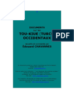 Documents Sur Les Tou-kiue Turcs Occidentaux. Édouard Chavannes. 1903