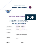 Artificial Blood