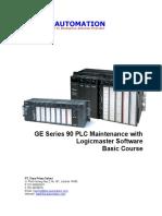 Series 90 PLC Maintenance With Logicmaster 90