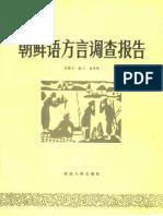 朝鲜语方言报告