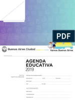 Agenda Educativa 2019 CABA