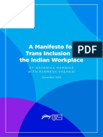 Godrej India Culture Lab Trans Inclusion Manifesto Paper3