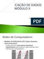 Comunicação de Dados Módulo II