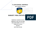 Real Estate Law Project